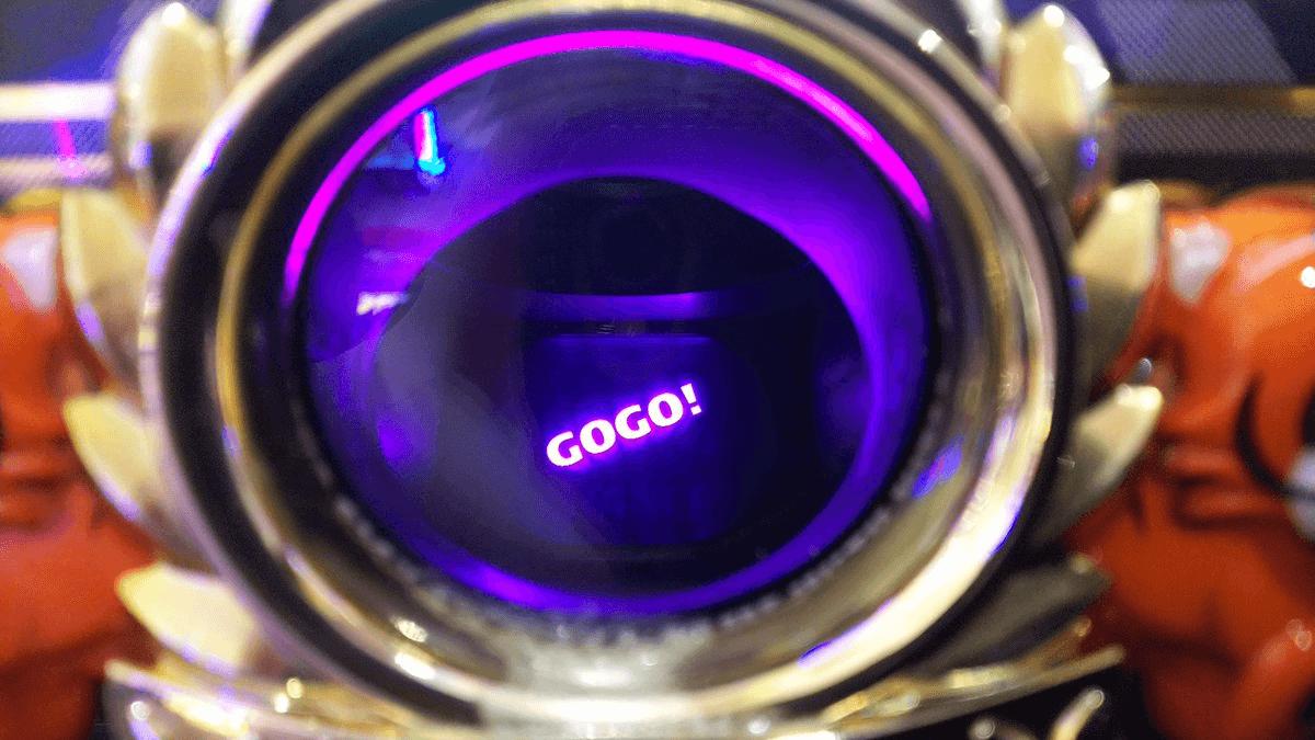 GOGO点灯